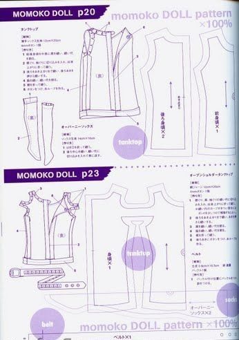 50 best images about playscale momoko patterns and