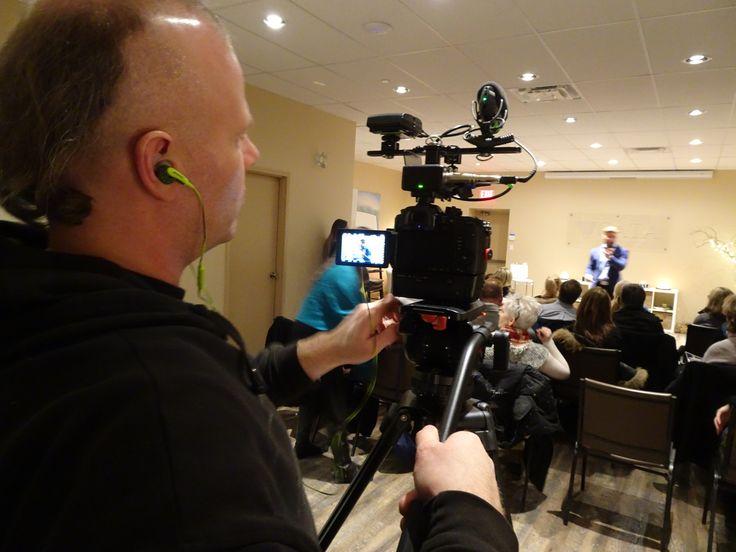 Chris Wyllie Hypnotist shoot. www.varietystoreproductions.com (416) 274-1265 #videoproductiontoronto #torontovideoproduction #markhamvideoproduction #videoproductionmarkham