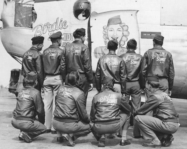 99 best History ~ Bomber Jackets images on Pinterest | Nose art ...