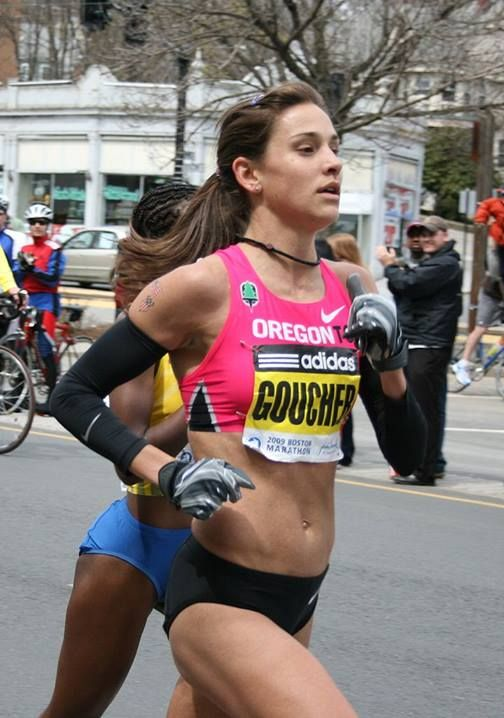 Eat like an Olympian: Elite runner Kara Goucher's top tips for fueling up and staying healthy. #fitnessmagazine