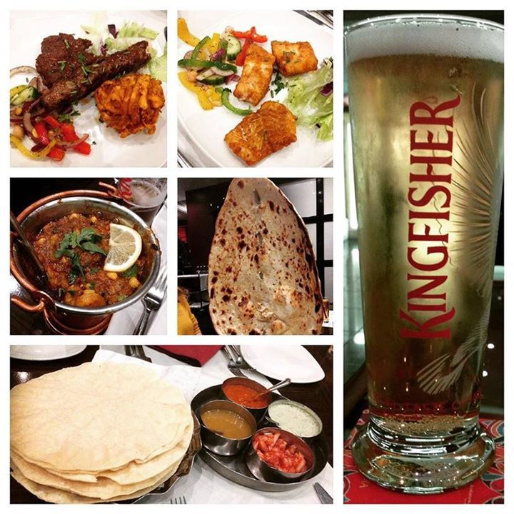 Had a terrific #Indian meal last night at the Westbourne Spice in #Otley washed down with a couple of pints of #Kingfisher a very light Indian #lager. #Food was amazing! #foodporn #poppadum #bhaji #pakora #curry #naan #yummy #spicy #Leeds #IgersLeeds http://ift.tt/1Lo7ouc