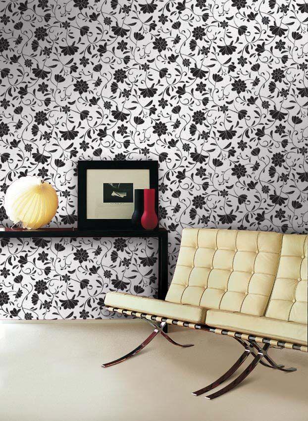 Empapelado - Flor - Papel de parede