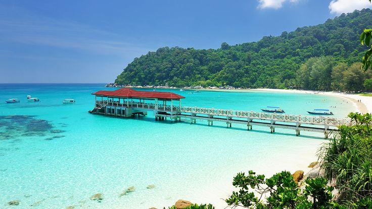 Perhentianöarna erbjuder magiska stränder, fantastisk snorkling/dykning och fest om nätterna -Malaysia