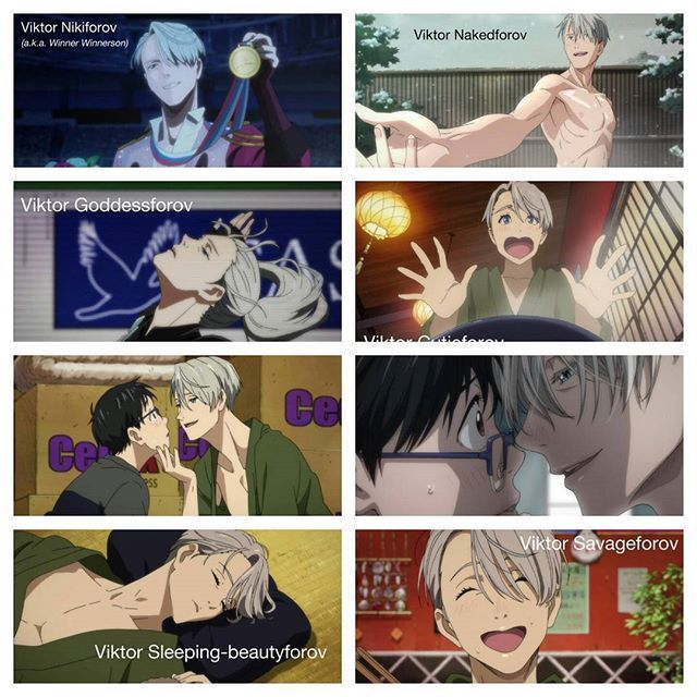 """"""" *Pulls out R18 Victuuri doujinshi* Victor Hentaiforov """" • This is (Victor) Gold(forov) okay but why am I like this • • [Credit : akatsuki-shin/Tumblr] • • #yurionice #yurikatsuki #victuri #victornikiforov #victuuri #viktornikiforov #viktuuri #vikturi"""