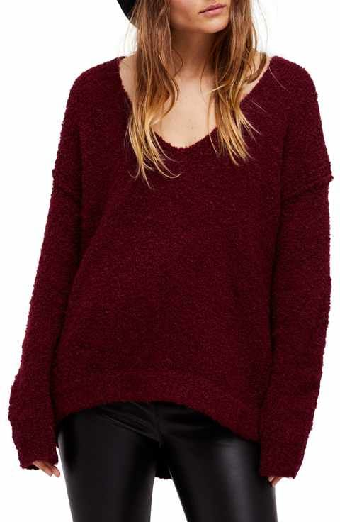 44601fd23e Free People Lofty V-Neck Sweater   I want to buy - Clothes ...