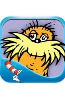 The Lorax Highlighted words make it easy for kids to follow along. And the ability to tap on any item in the pictures and find out what it's called is a wonderful added bonus for budding readers. This version of The Lorax should set the standard for what a read-along app should be.
