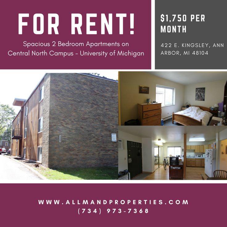 Ann Arbor Apartment Properties: 422 E Kingsley St, Ann Arbor, MI