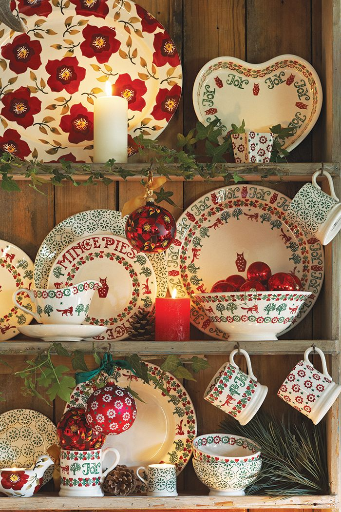 Emma Bridgewater Christmas 2014 collection                                                                                                                                                                                 More