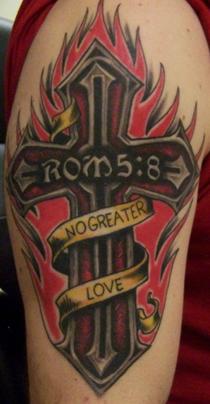 Amazing Cross Tattoos For Boys (4)