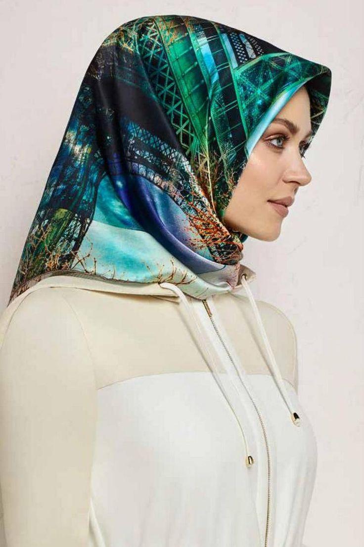 Armine Lorwen Silk Hijab | HijabPlanet.Com