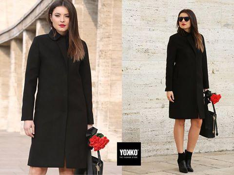 FAITH, jacheta lunii noiembrie 🍂  #coat #black #jacket #cold #outfit #women #style