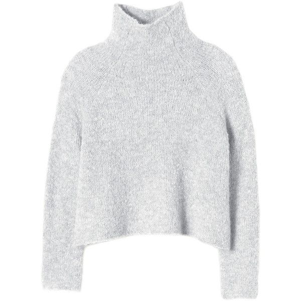 Mesh Cropped Pullover | White Jumpers, Pullovers & Sweaters ...