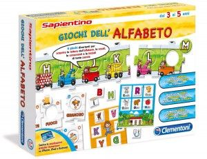 http://www.giocagiomassa.it/giochi-per-lo-sviluppo-del-linguaggio/ 5-6 anni: Divertenti giochi come la tombola delle iniziali permetteranno di imparare non solo a riconoscere le lettere, ma anche a metterle in ordine alfabetico e a distinguere le vocali dalle consonanti.