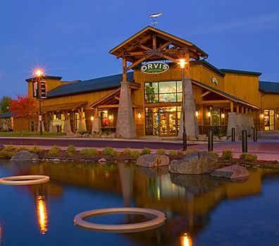 Orvis shop in bend oregon architecture retail for Reclaimed wood bend oregon