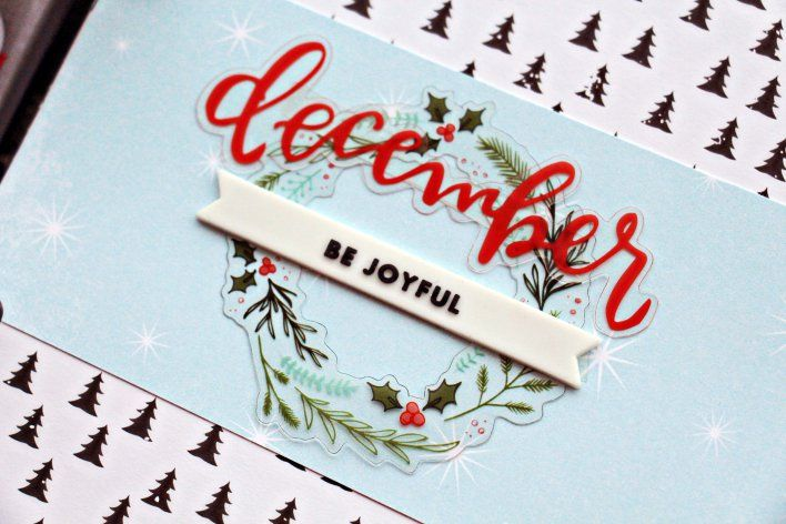 December Daily on amyjocreates