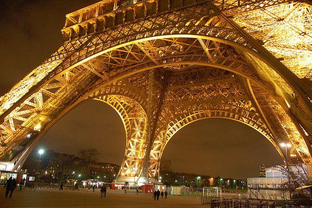 Eiffel Tower Closeup by Tim Lam, via Flickr!