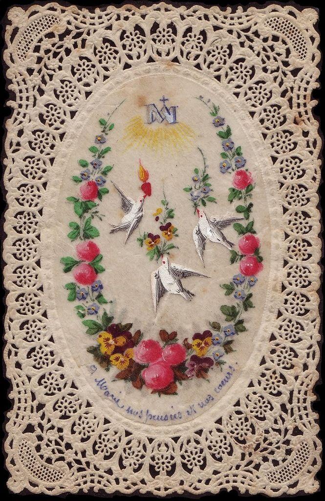 Старые католические открытки (часть 1). Обсуждение на LiveInternet - Российский…