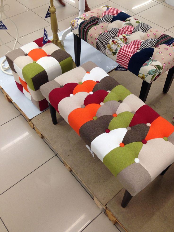 Una mezcla de color equilibrada. A partir de este pie de cama voy a diseñar un dormitorio de matrimonio