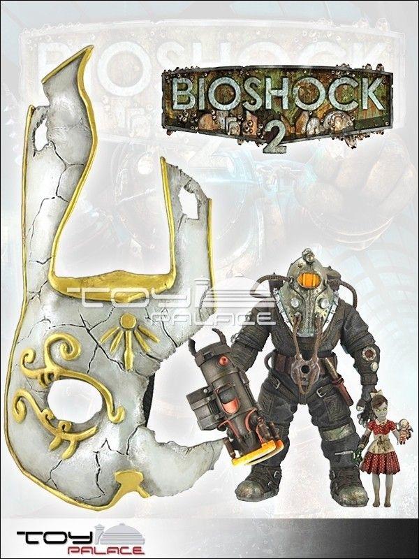 Bioshock 2 Sinclair w/ Little Sister & Bunny Mask - Bioshock - Games