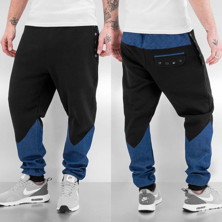 Herren Just Rhyse Most Wanted Sweat Pants Black, 04056189157260