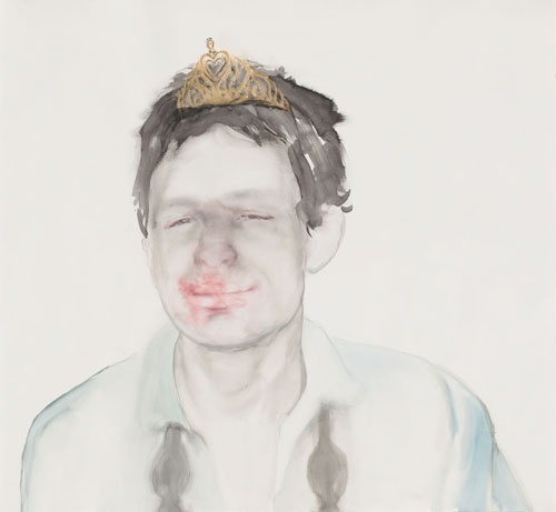 Fiona McMonagle Queen of the ball, 2010-11 106 x 114.5cm Watercolour and gouache on paper