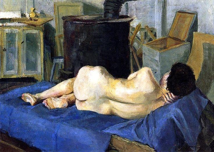 Nude in the Studio Albert Marquet