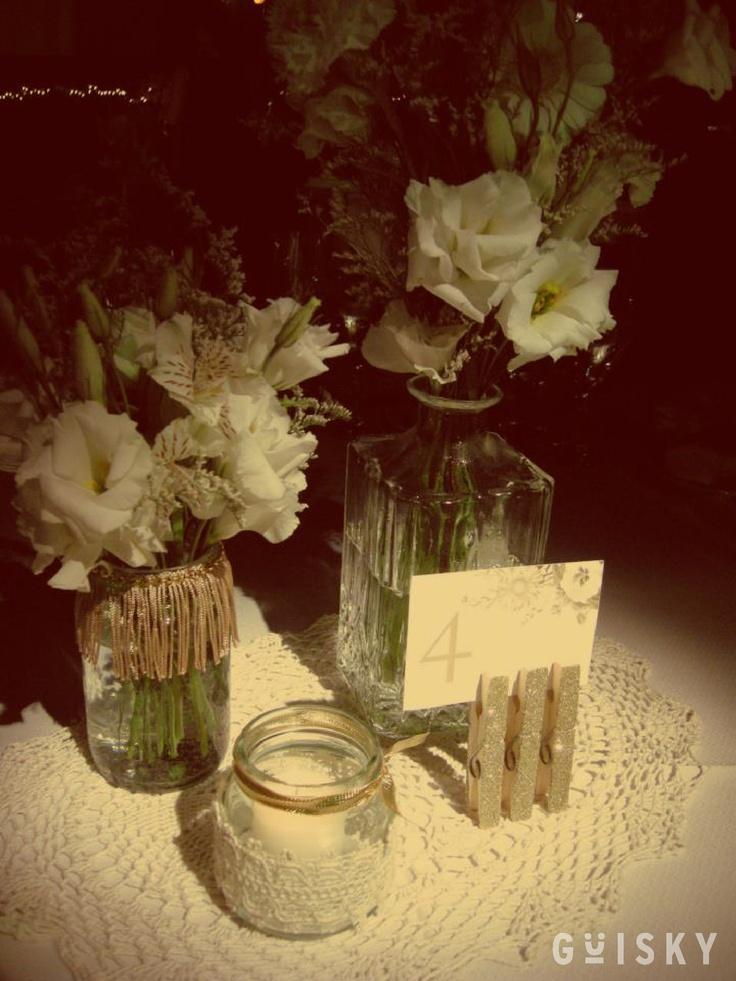 Centro de mesa #1 - Casamiento Juli & Lean - Lowlands