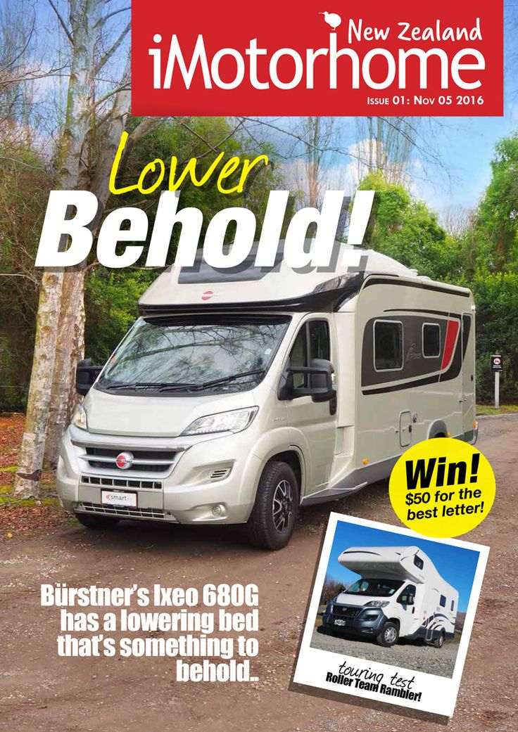 Today we launched the first issue of iMotorhome New Zealand Magazine! Check it out (and get a free subscription) on our new website www.imotorhome.co.nz!