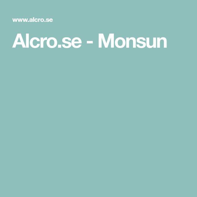 Alcro.se - Monsun