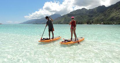 Moorea Paddle Board Adventure | Tahiti Activities