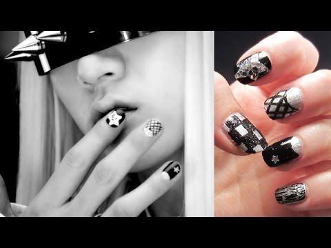 NU'EST Ren's Face Inspired Nails - YouTube