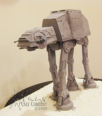 HOLY AT-AT Cake,  Chewy!!  I'm dumbfounded.: Cakes Company, Amazing Cakes, At At Cakes, Awesome Cakes, Cakes Decor, Stars War Cakes, Atat Cakes, Crazy Cakes, Grooms Cakes
