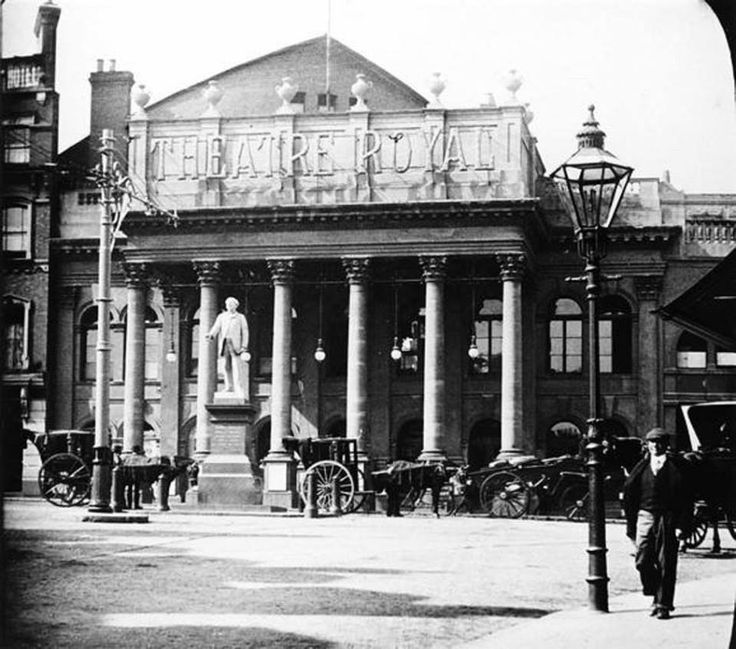Theatre Royal, Nottingham, early c. 1900s.