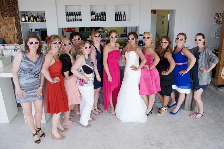 The Girls#beach wedding#scheveningen#carlton beach club