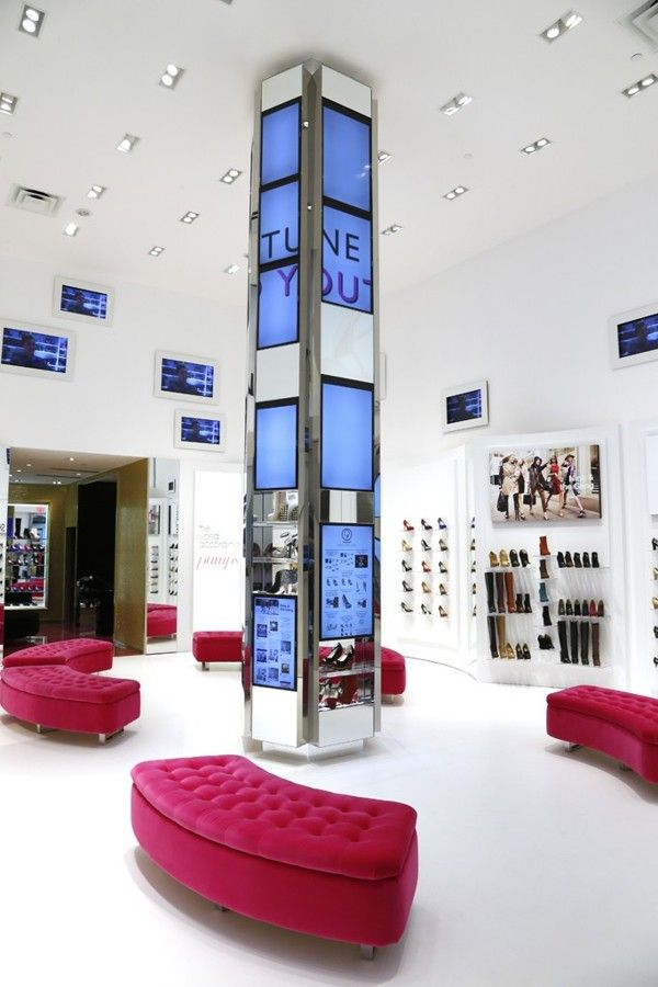Nine West Flagship Store Interactive Digital Signage by Josiah Hobson, via Behance