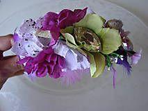 Čelenky - Orchidea vo vlasoch - 5664047_