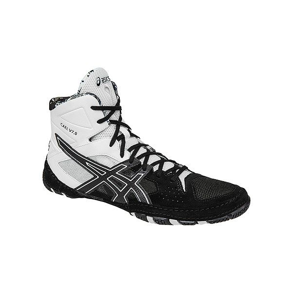 Version 7 of the Asics Cael wrestling shoes, will not disappoint. The Cael  is in stock ready to ship from WrestlingGear. Great team colors in this shoe .