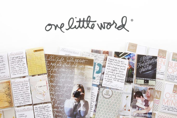One Little Word® 2017