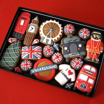 london cookies....inspiration to make American versions