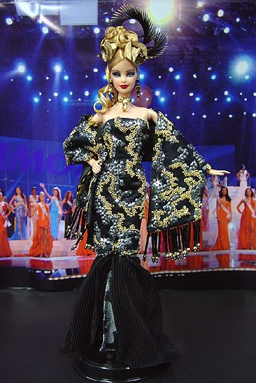 Miss Louisiana Barbie Doll 2007
