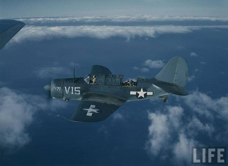 The Curtiss SB2C Helldiver was a carrier-based dive bomber aircraft produced for the United States Navy during World War II. It replaced the Douglas SBD Dauntless in US Navy service
