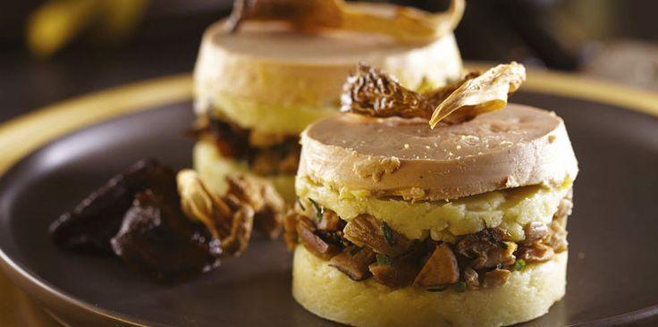 Parmentier au foie gras