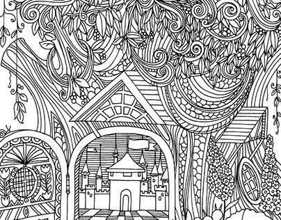 """Check out new work on my @Behance portfolio: """"Relaxing colouring books"""" http://be.net/gallery/32457113/Relaxing-colouring-books"""