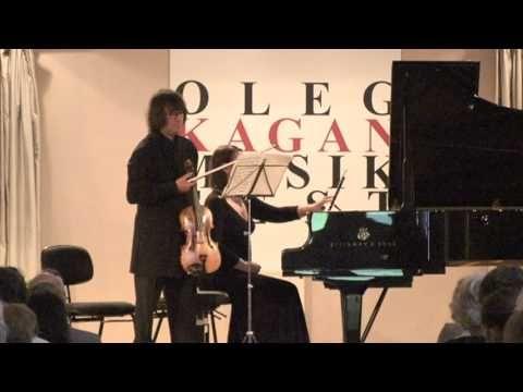 Glinka Viola Sonata Yuri Bashmet & Ksenia Bashmet - YouTube