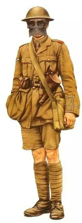 British tank crew 1918, pin by Paolo Marzioli