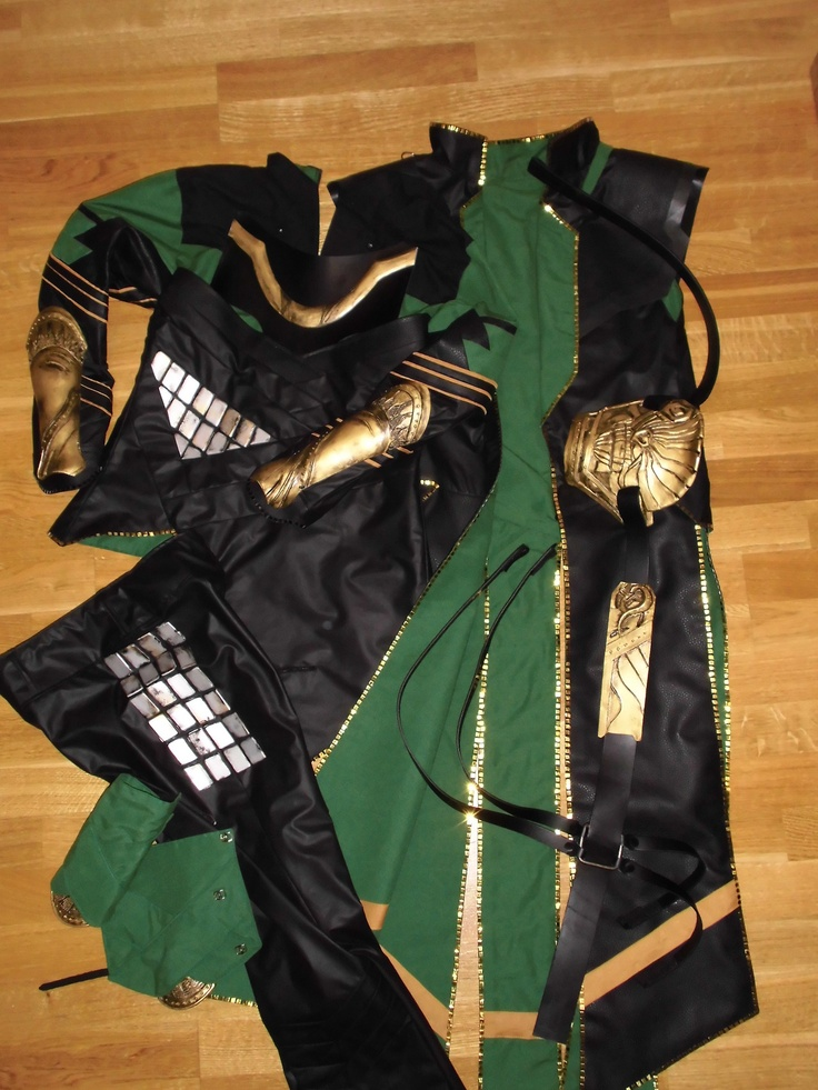 246 best diy lokis costume images on pinterest make up looks loki costume reference use strips of cotton fabric painted gold solutioingenieria Gallery