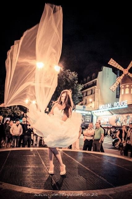 One of my favourite wedding images. I took this in front or The Moulin Rouge in Paris