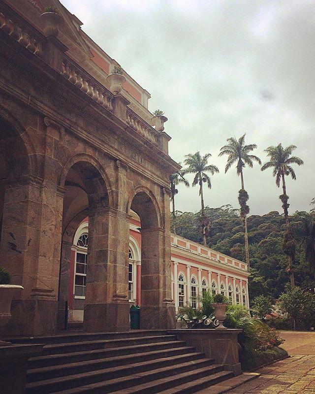 Casa de veraneio da realeza brasileira #ferias #museuimperial #serrafluminense #serracarioca #petropolis