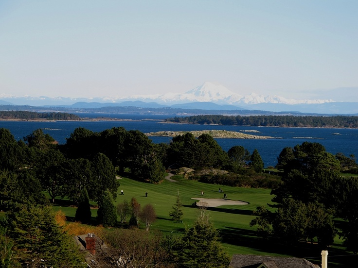 View of Mt Baker from Victoria