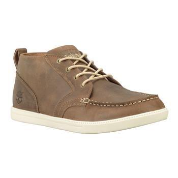 Timberland - Chaussures Fulk Moc Toe Chukka Leather Homme - Marron